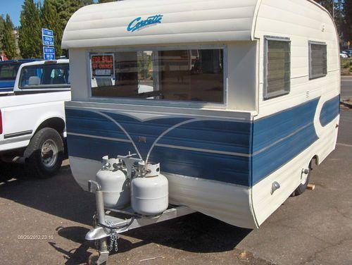 Vintage 1959 corvette travel trailer in rvs campers for Ebay motors car trailers