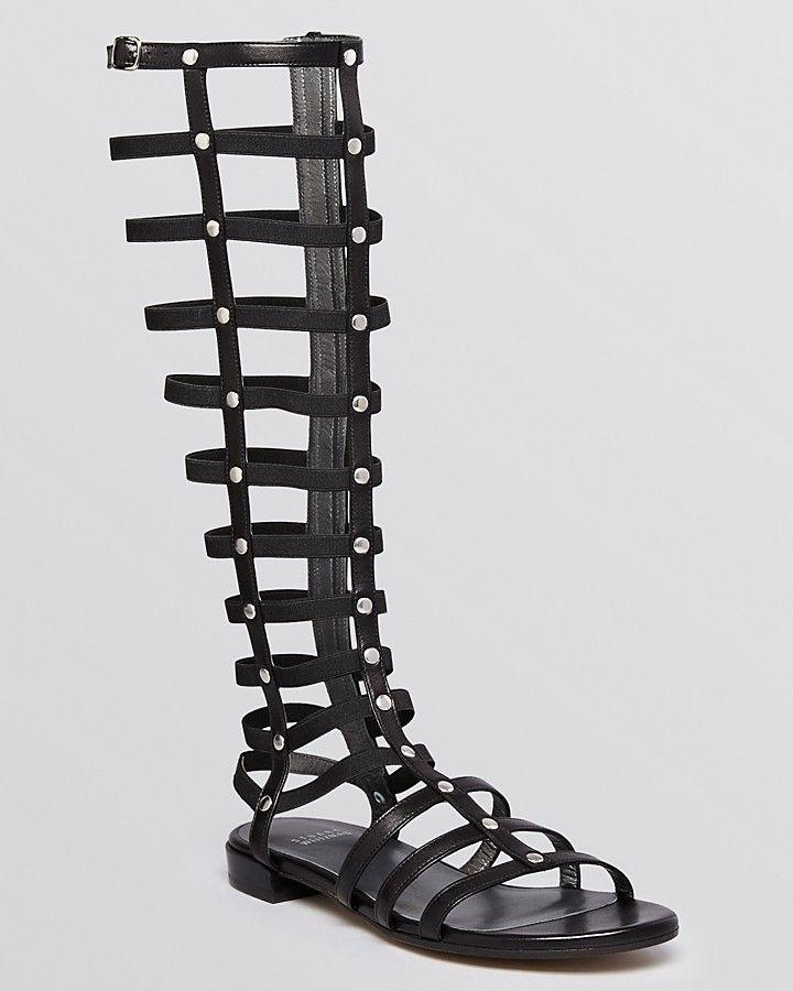 Stuart Weitzman Knee-High Gladiator Sandals buy cheap pictures PBvhpx