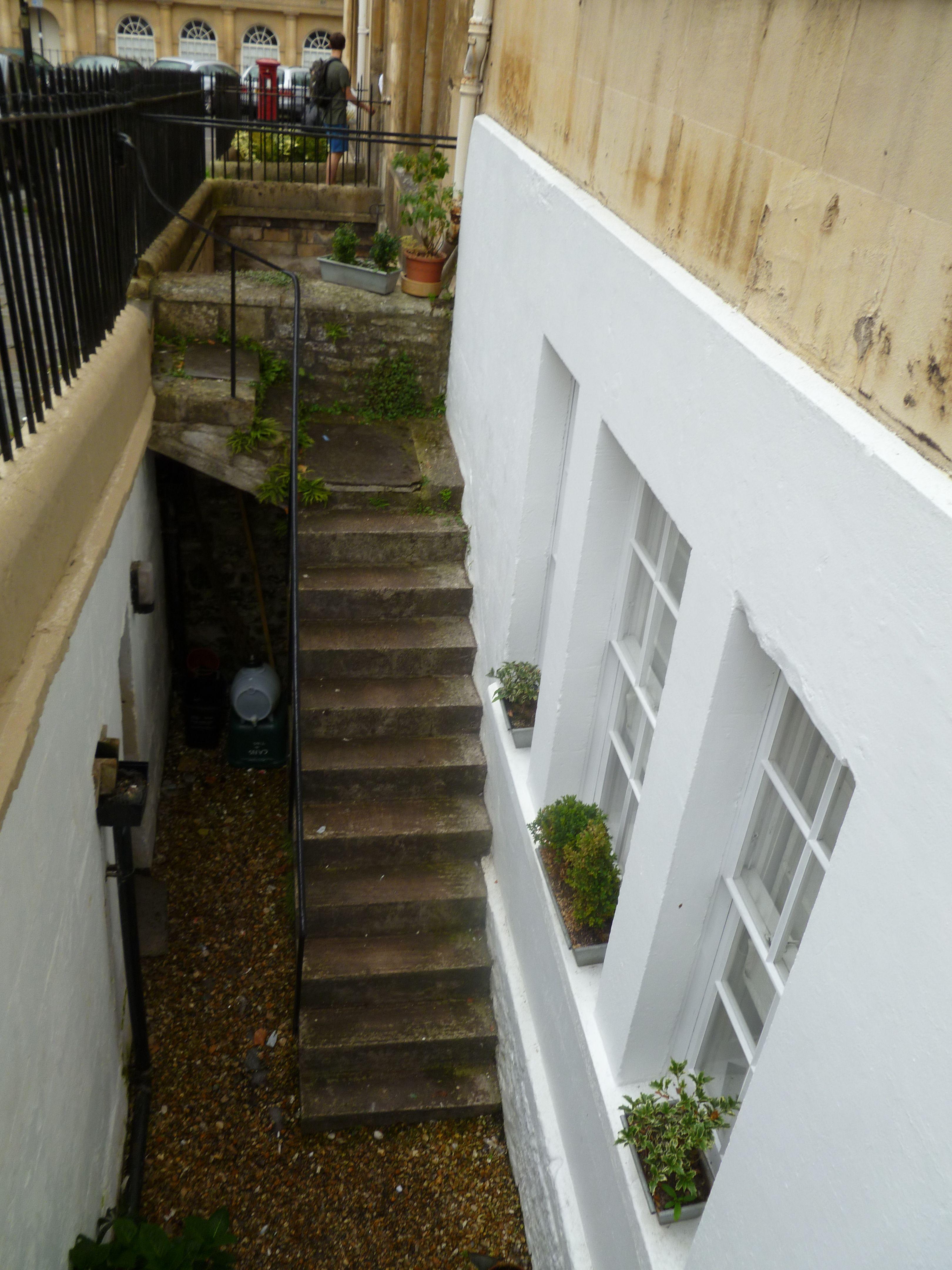 Basement steps, Bath, England | random | Pinterest
