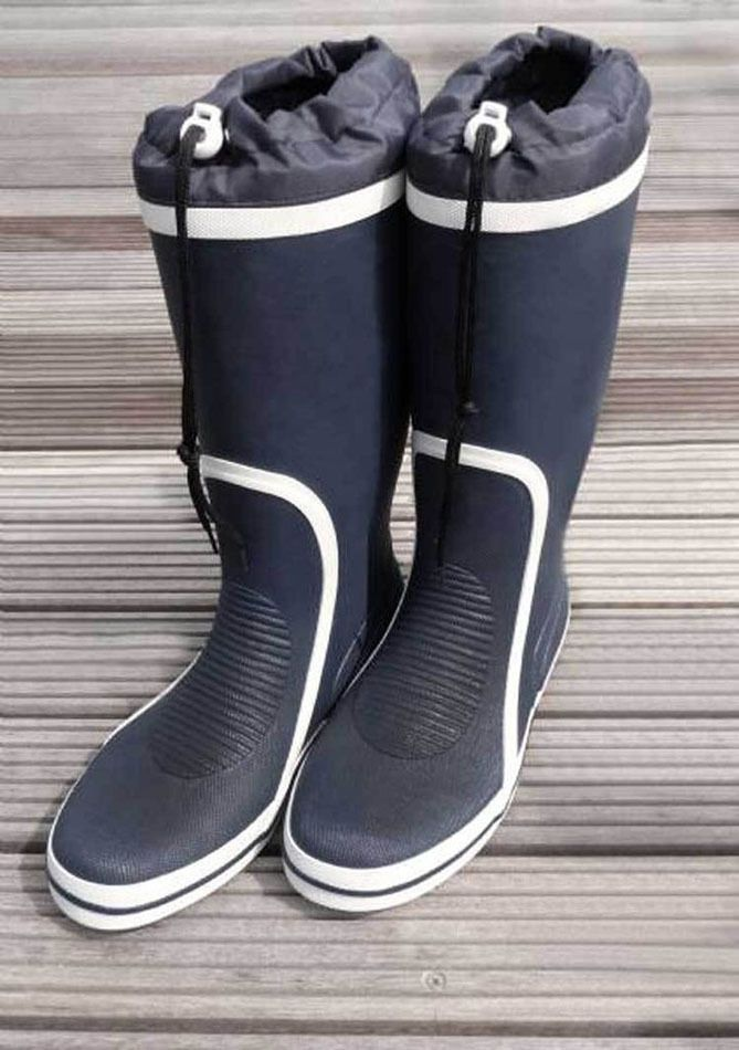 ae32d1fa522 Waveline  whitby tall yachting sailing boots  non-slip non-marking ...