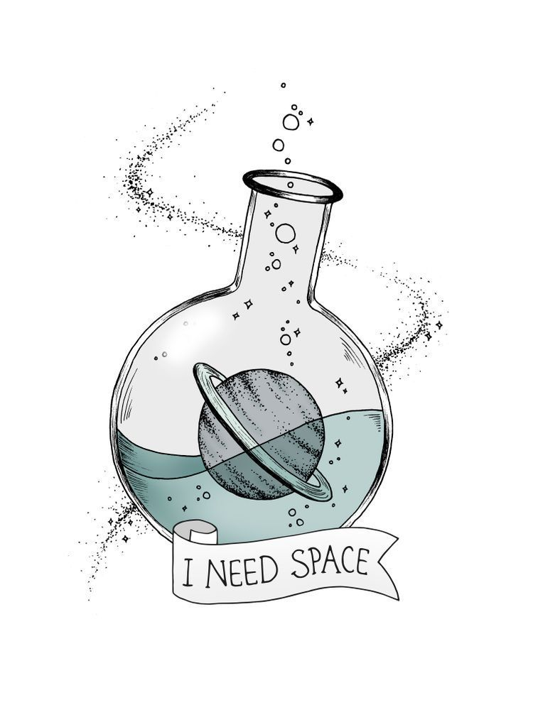 I Need Space Unisex Tank Top by barlena