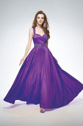 A beautiful purple prom dress design from Lafee by Jasmine | Prom ...