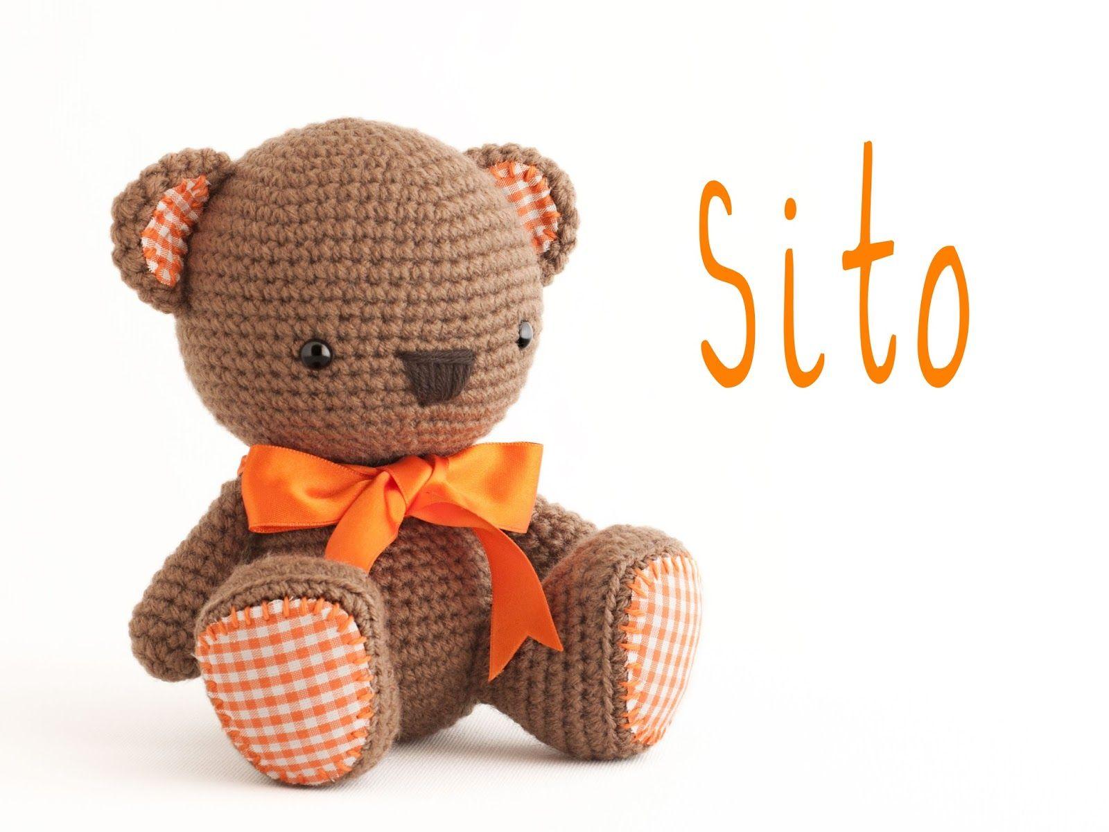 Amigurumi Tutorial Osito : Ositos teddy bear tejiendo perú