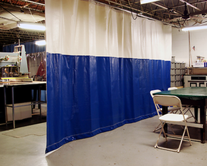 Our Industrial Curtains Provide The Perfect Partitioning Solution