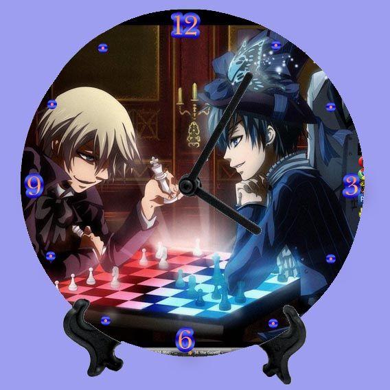 Аниме Часы Темный дворецкий | Аниме, Дворецкий и Темный