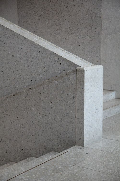 david chipperfield terrazzo neues museum archi detail pinterest treppe gel nder und. Black Bedroom Furniture Sets. Home Design Ideas