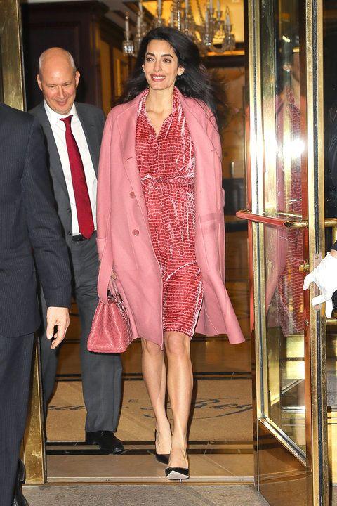Amal Clooney vestiti: tutti i look dell'unico avvocato