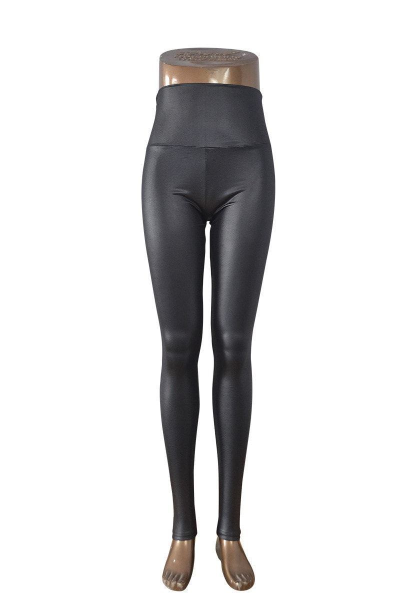 New Fashion Skinny Faux Leather Sexy Leggings