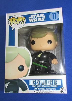 Funko Pop Star Wars Luke Skywalker Jedi 11 Blue Box Rare Vaulted Pop Protector Funko Pop Collection Funko Pop Dolls Funko Pop
