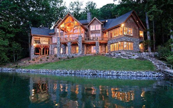 Lake house maintenance lakes future and house - Mountain house plans dreamy holiday homes ...
