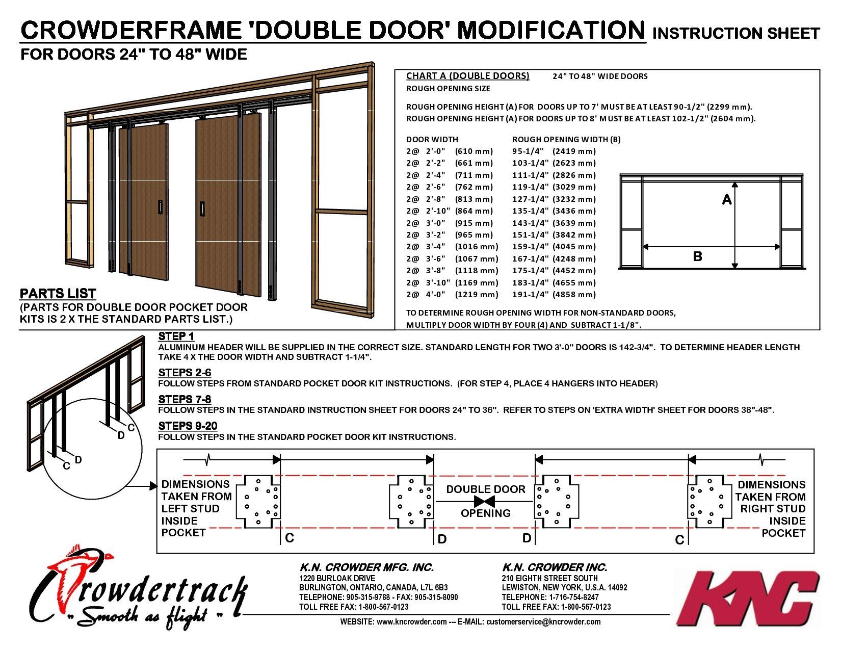 24 Interior Door Rough Opening Standard Garage Door Sizes