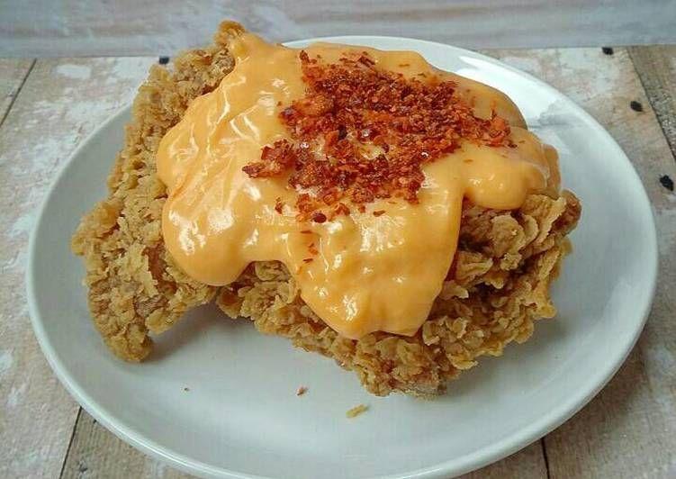 Resep Ayam Saus Keju Oleh Susan Mellyani Resep Makanan Keju Makanan Dan Minuman