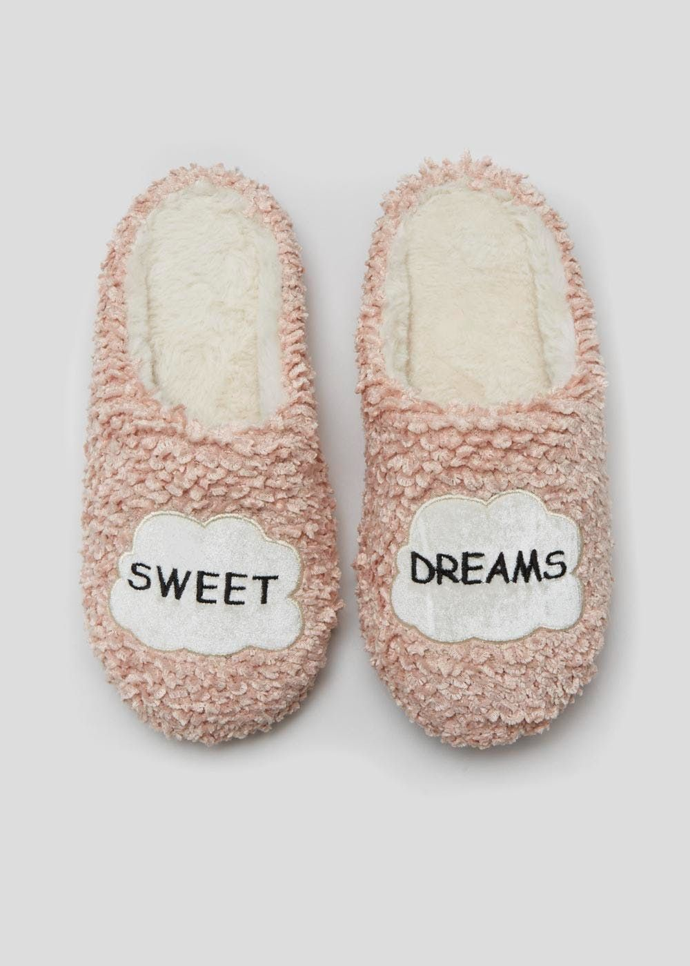 734228643cb Slogan Slipper Mules – Pastel Pink in 2019