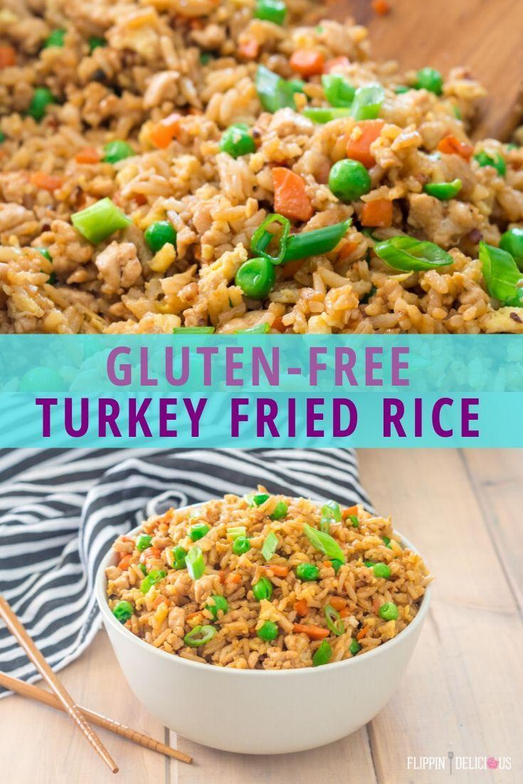 Gluten Free Ground Turkey Fried Rice Recipe -