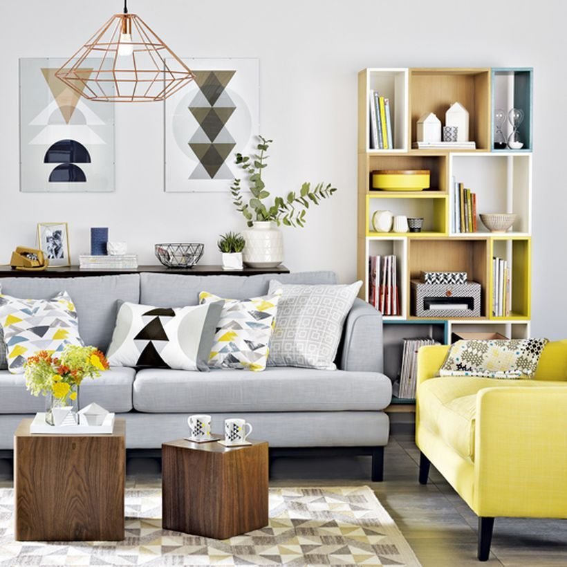 Beau 150 Inspiring Yellow Sofas To Perfect Living Room Color Schemes  Https://decomg.