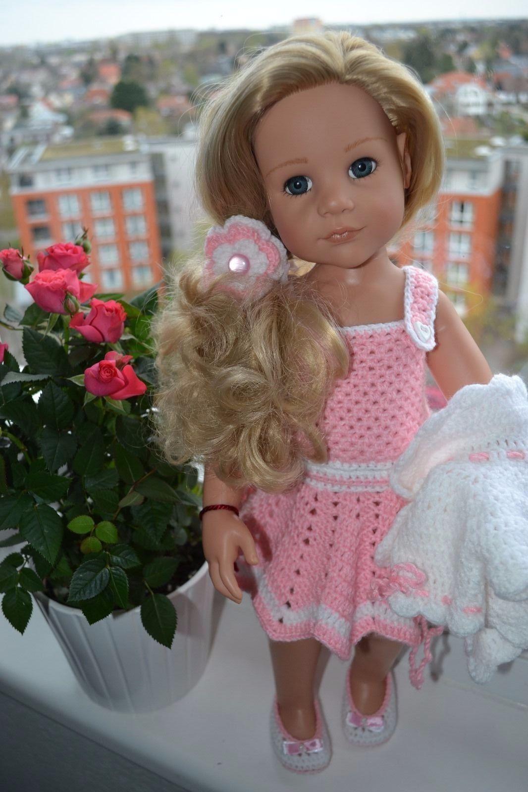 Puppenkleidung für Götz Puppe 45-50 cm, 5 teiliges Set (ohne Götz ...