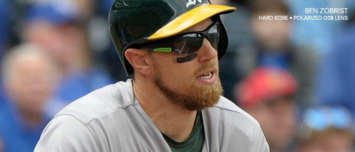 Ben Zobrist wearing Hard Kore Kaenon Sunglasses. #BaseballSunglasses #MLB #PolarizedSunglasses