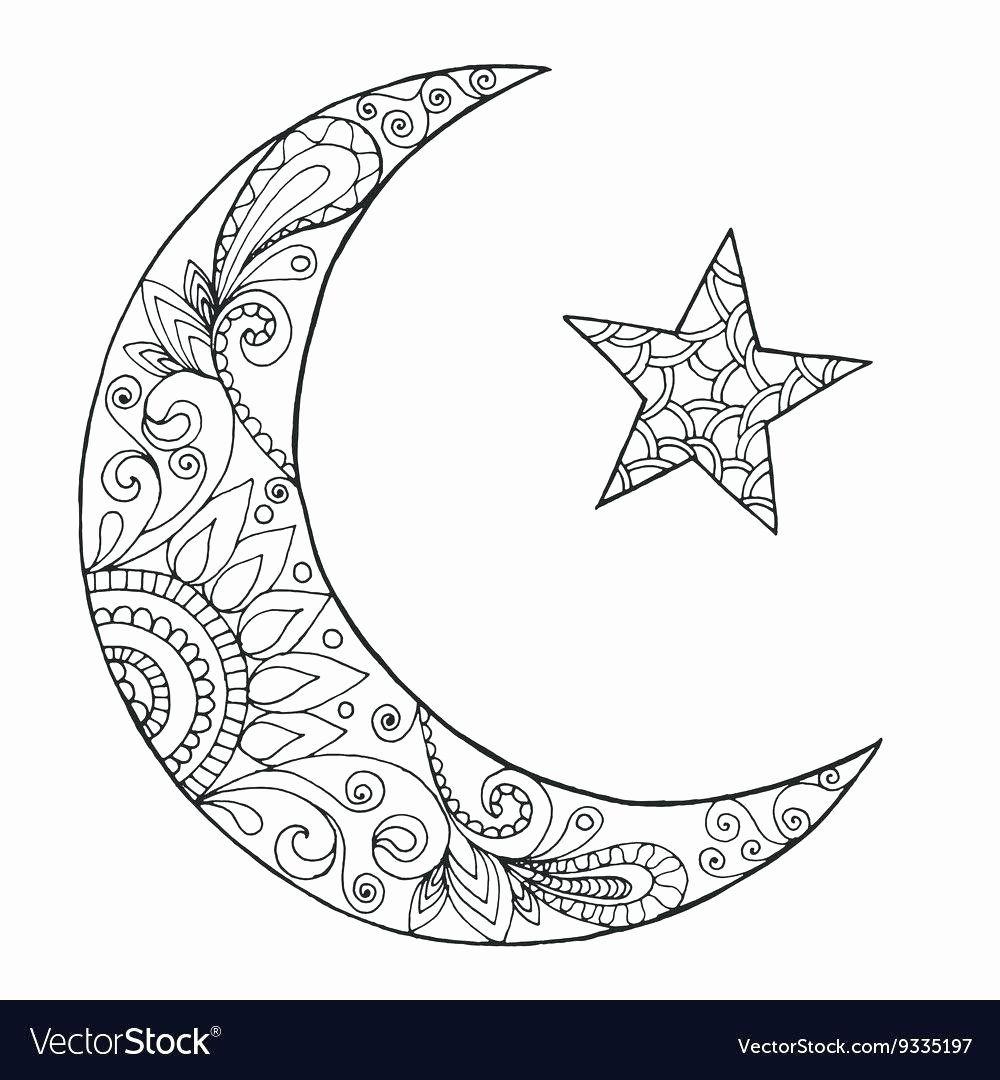 Coloring Moon Color Boyama Sayfalari Desenler Cizimler