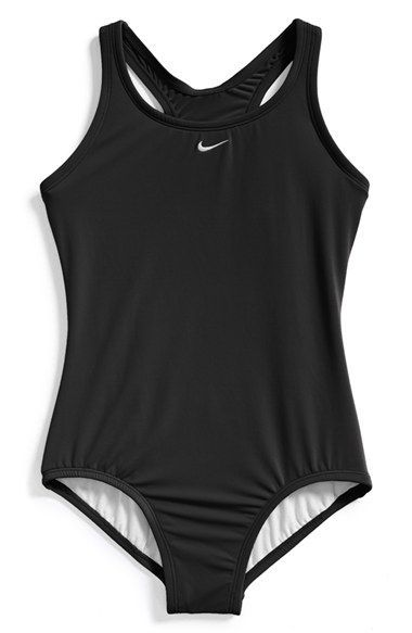 b7650d38ad930 Nike 'Core' Racerback One-Piece Swimsuit (Big Girls) available at #Nordstrom