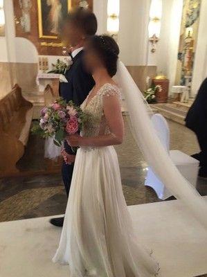 6db6dac0e8 Suknia ślubna Laurelle jedwab