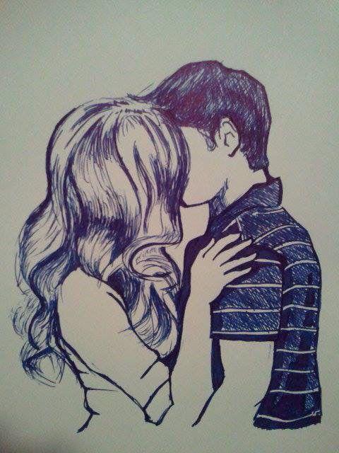 Boy And Girl Drawing : drawing, Drawing, Drawings,