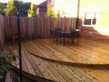 Wheelchair Ramp And Decking   Modern   Glasgow   By First Class .