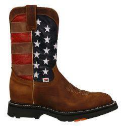 bcd187da70a 3110 - RockinLeather Mens American Flag Steel Toe Work Boot in 2019 ...