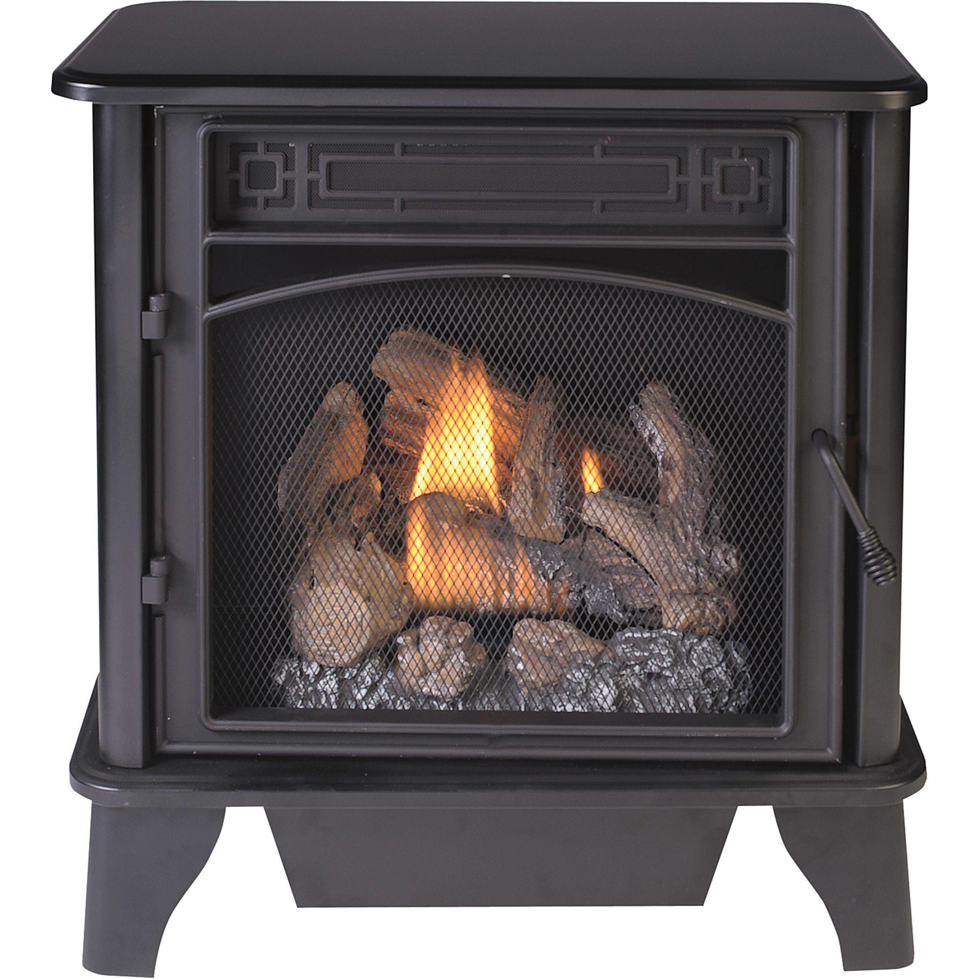 Procom Vent Free Dual Fuel Stove 23 000 Btu 850 Sq Ft Heating