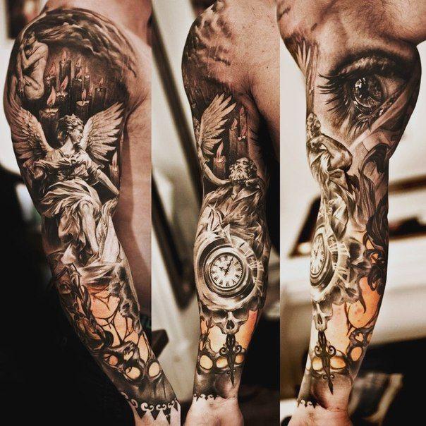 0aec9ac73 Bomb ass sleeve tattoo | Stuff to Buy | Tattoo sleeve designs, Best ...