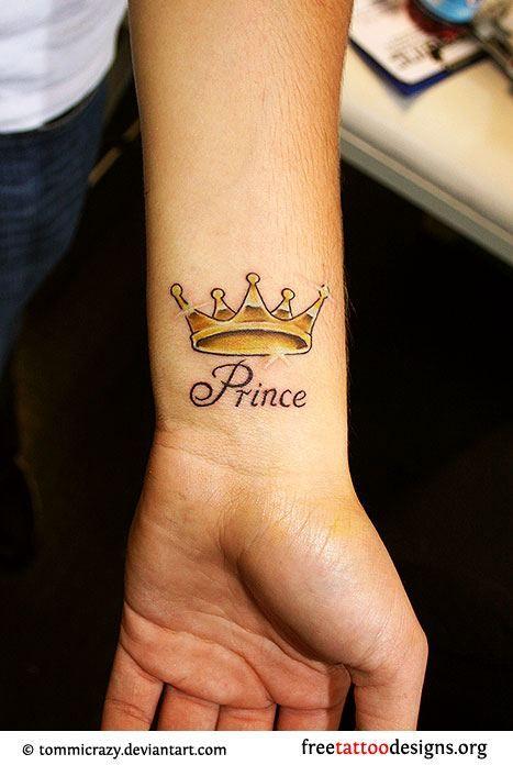 Wrist Tattoo Prince Tattoos Crown Tattoo On Wrist Crown Tattoo