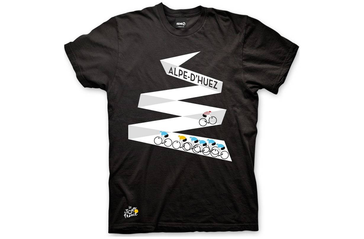 Shirt Met Verlichting Alpe D Huez For The Love Of Cycling