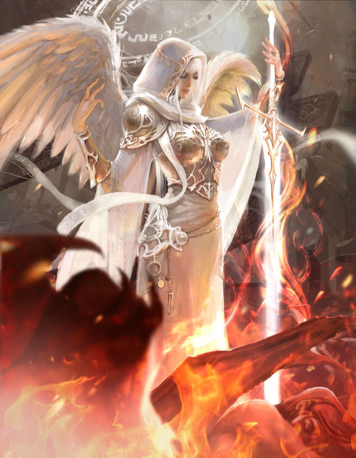 lana g | Fantasy art angels, Fantasy artwork, Fantasy art