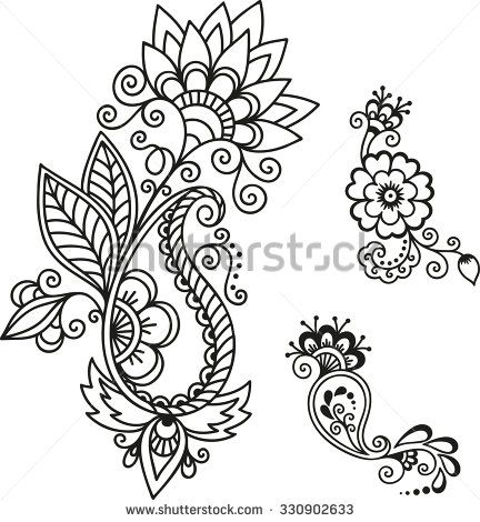 henna tattoo flower template mehndi henna tattoos. Black Bedroom Furniture Sets. Home Design Ideas