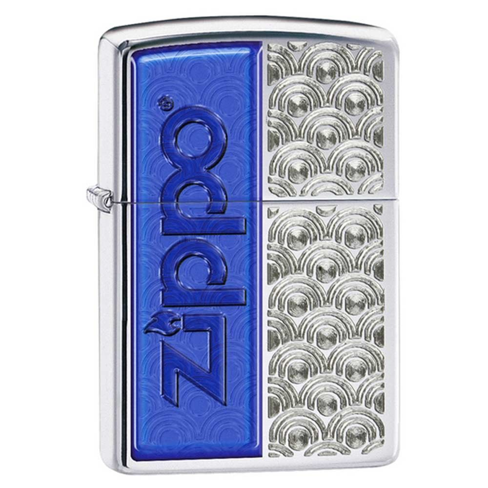 Zippo 28658 Classic High Polish Chrome Special Design Windproof Pocket Lighter
