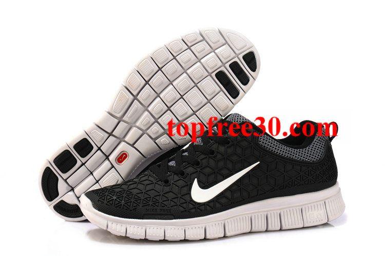 e1a937fe7a5b topfree30.com for nikes 50% OFF - Mens Nike Free 6.0 Black White Shoes