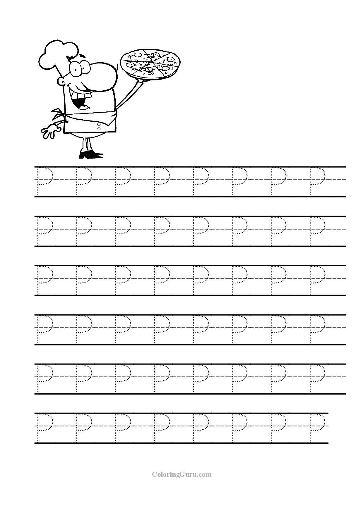 3 Worksheet Practice Tracing L Prek Free Printable Tracing Letter P Worksheets For P Letter P Worksheets Tracing Worksheets Preschool Letter Tracing Printables