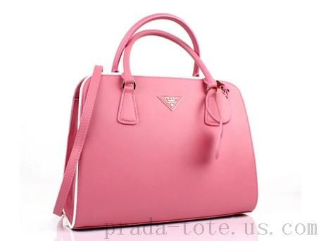 Authentic Prada BN2609 Handbags in Sakura Pink onnline sale  13b1c39c14271