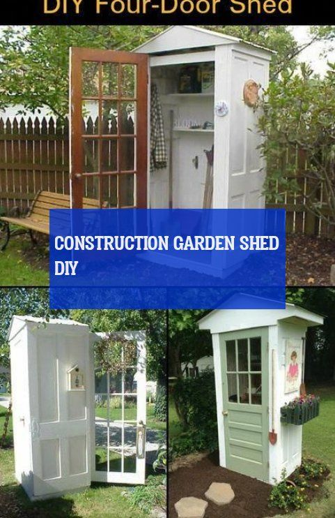 Construction garden shed diy