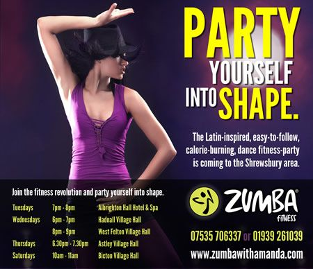 flyers zumba classes