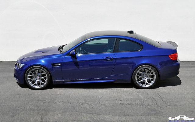 Interlagos Blue E92 M3 Hre P40s Wheels Eas 2 Bmw Bmw M3 Car