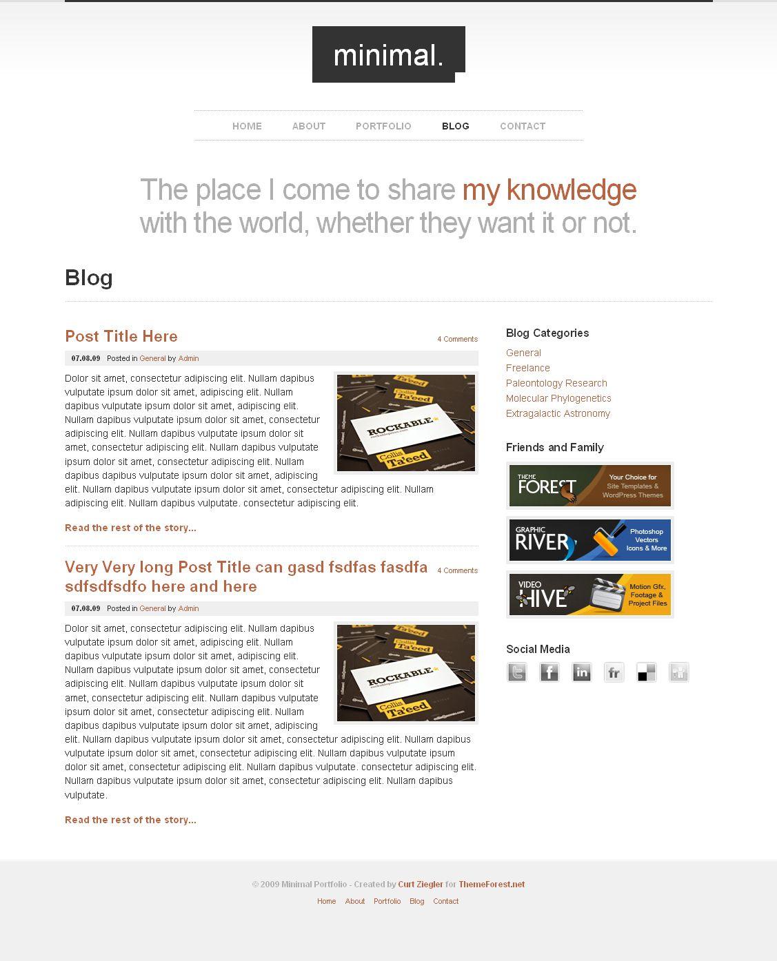 minimal html portfolio site template html minimal portfolio