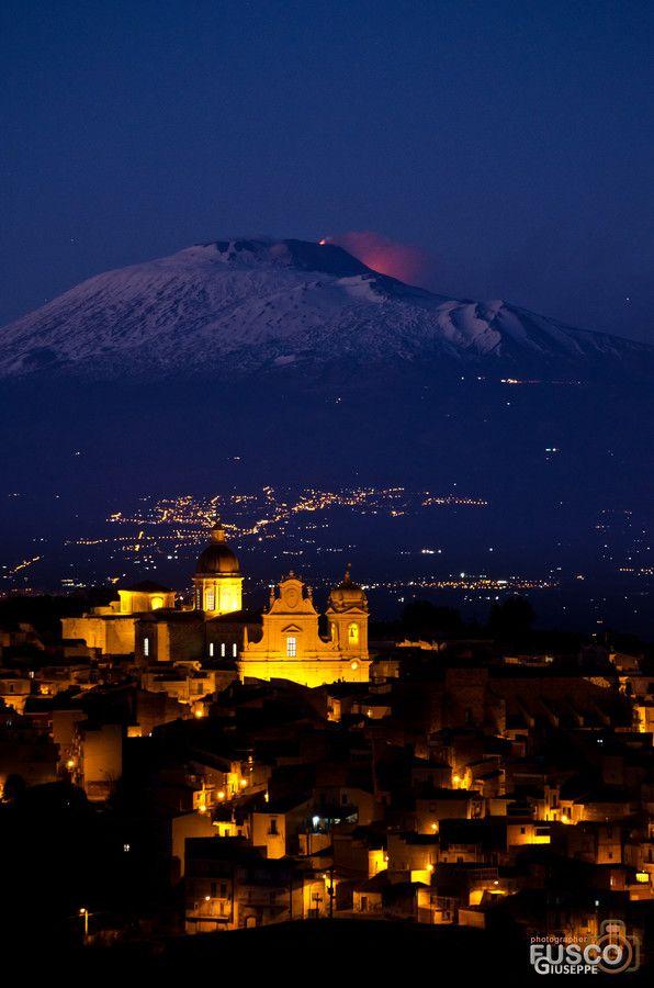 Photo Etna Seen From Militello In Val Di Catania By Giuseppe Fusco