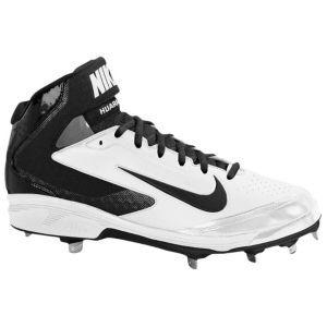 Outlet Nike Mens Air Huarache Pro Mid Metal Baseball Shoes