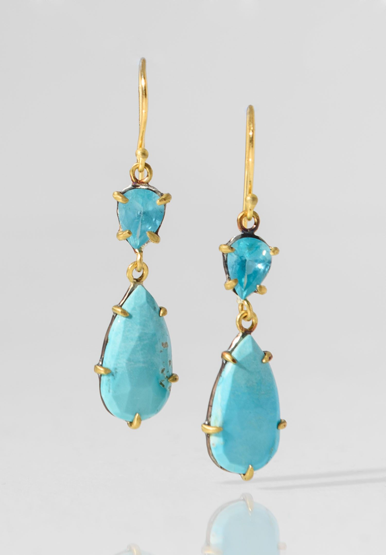 product rippleearringscover leoben jewelry ripple handmade apatite gemstone earrings