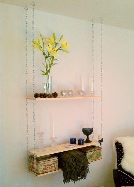 Hang Em Up Diy Hanging Shelves Hanging Shelves Diy Wall Shelves