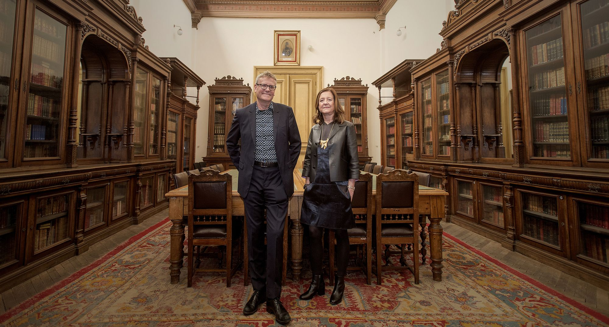 """Beatriz Colomina and Mark Wigley, Curators of the 2016 Istanbul Design Biennial, Discuss """"The Design of the Species"""""""