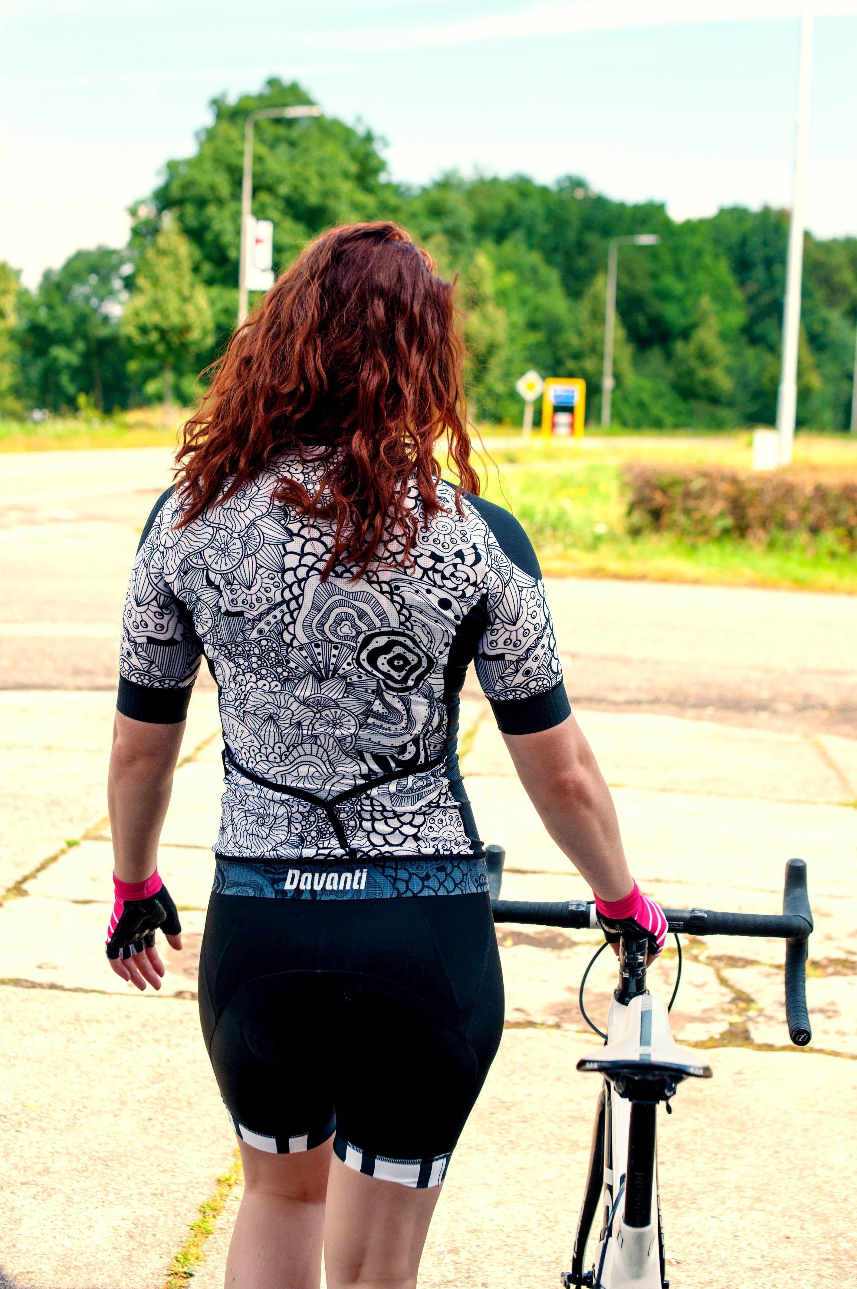 Davanti bikewear Dames Fietsshirt