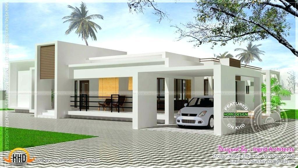 Exterior House Design One Floor Single Floor House Design Contemporary House Plans Luxury House Designs
