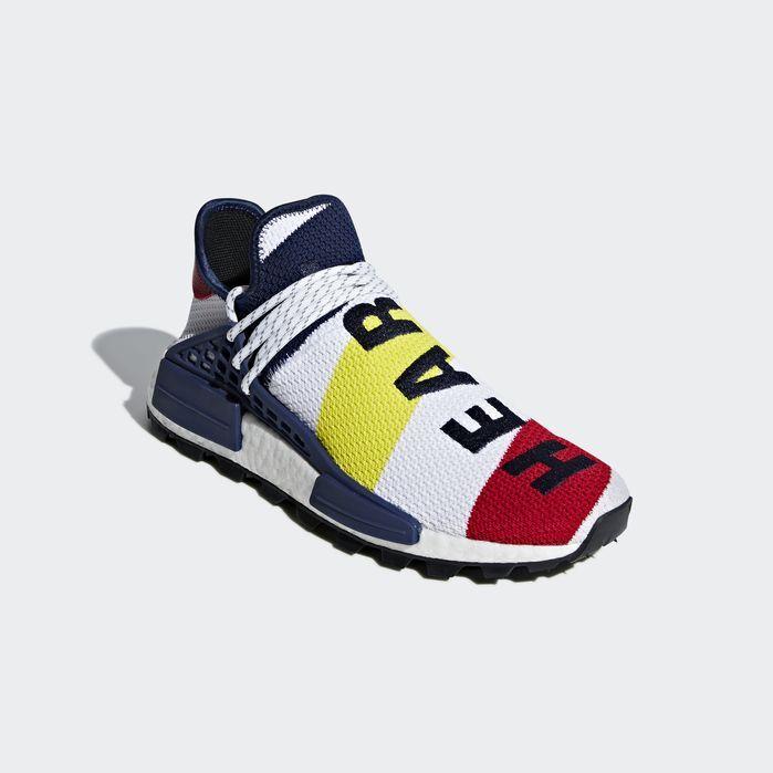 wholesale dealer 254cb 0d13f Pharrell Williams BBC Hu NMD Shoes Cloud White 13 Mens ...