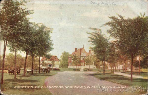 Junction of Gladstone Boulevard & Cliff Drive Kansas City Missouri